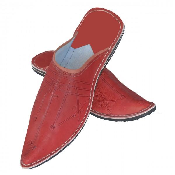 Details zu Orientalische Leder Schuhe Aladdin Spitzschuhe Marokkanische Babouche Pantoffel